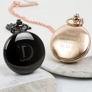 Monogram Personalised Pocket Watch