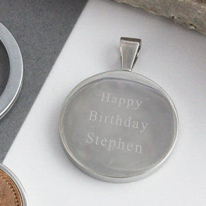 21st Birthday 2000 Five Pence 5p Coin Keyring