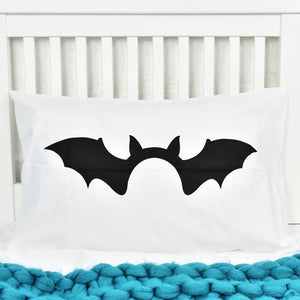 Halloween Bat Children's Pillow Case
