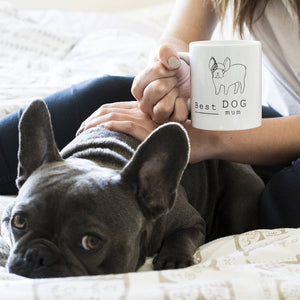 Best Dog Mum Illustration Breed Mug
