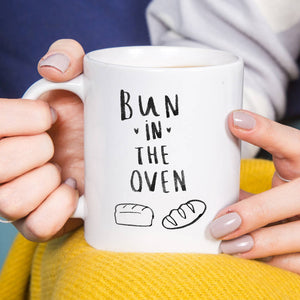 Mum To Be 'Bun In The Oven' Mug