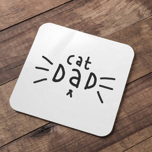 Cat Dad Coaster