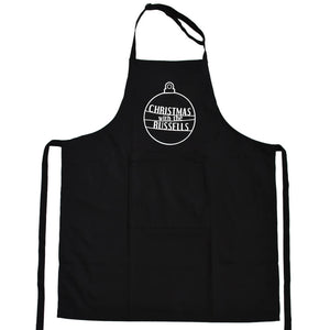 'Christmas With The…' Bauble Apron