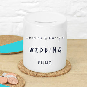 Couples Personalised Money Box Fund