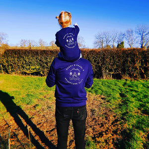 Dad And Me Adventure Club Navy Sweatshirt Jumper Set