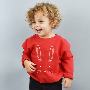 Bunny Children's Sweatshirt Jumper