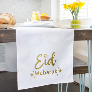 Ramadan 'Eid Mubarak' Table Runner