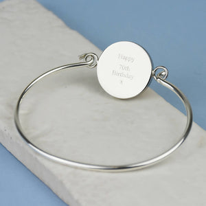90th Birthday 1931 Farthing Bangle Bracelet