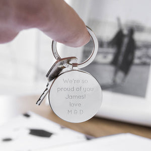 Graduation 'I've Got A Phd' Circle Keyring