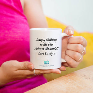 'Hip Hip Hooray It's My 80th Birthday' Mug