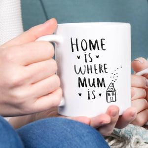 Home Is Where Mum Is Mug