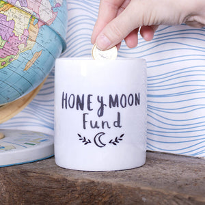 Honey Moon Fund Money Box