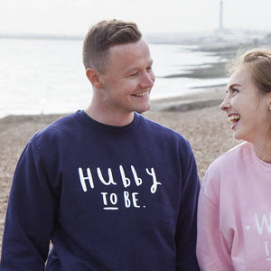 Hubby To Be Stag Do Sweatshirt