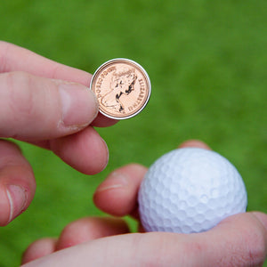 Lucky Penny Coin Golf Marker 1979 To 2005