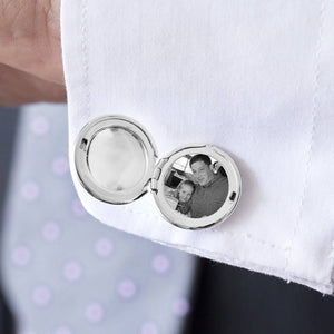 Monogram Personalised Locket Cufflinks