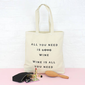 All You Need Is Personalised Tote Bag