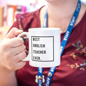 Personalised Best Teacher Ever Mug
