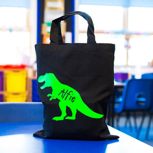 Personalised Dinosaur Children's Lunch Bag