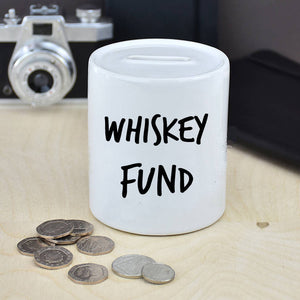 Personalised Drink Fund Money Box
