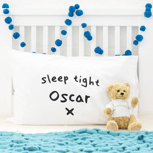 Personalised Children's Special Message Pillow Case