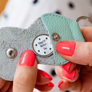 Personalised Pocket Token Keepsake Keyring