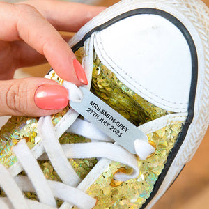 Personalised Wedding Shoe Tag