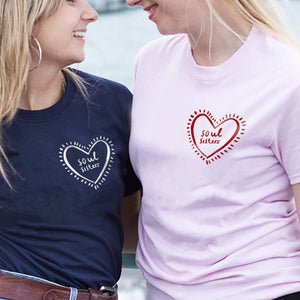 'Soul Sisters' Friendship T Shirt Set