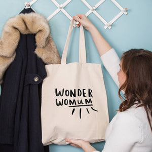 'Wonder Womum' Wonder Woman Mum Tote Bag