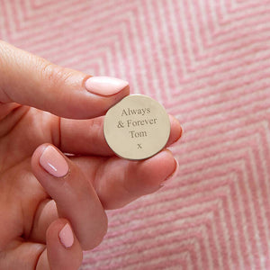 'You Are Loved' Pocket Token Keepsake Keyring