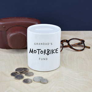 Grandad's Personalised Money Box