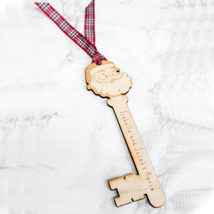 Personalised Christmas Santa's Magic Key