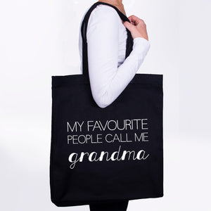 My Favourite People Call Me Grandma Tote-Bag