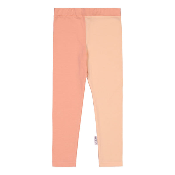 gugguu 2-Color Leggings Leggings Rogue Tulip / Love Apricot 140