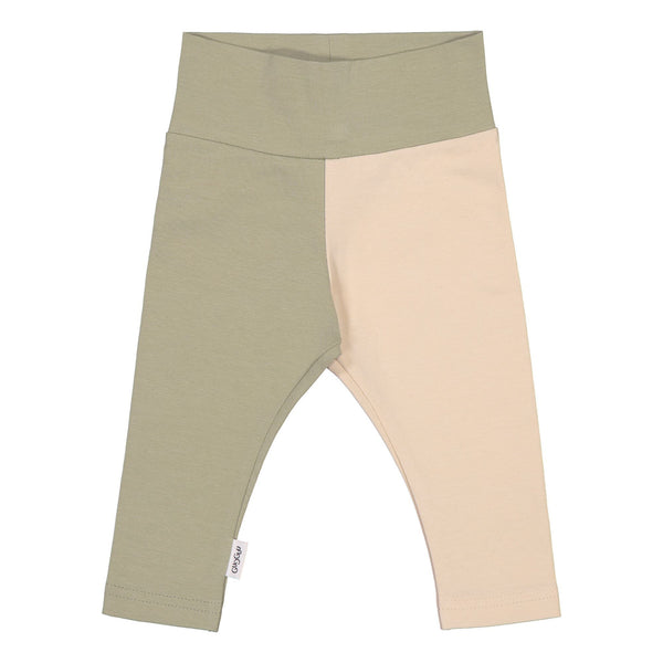 gugguu Baby 2-Color Leggings Leggings Pale Sage / Linen Beige 50
