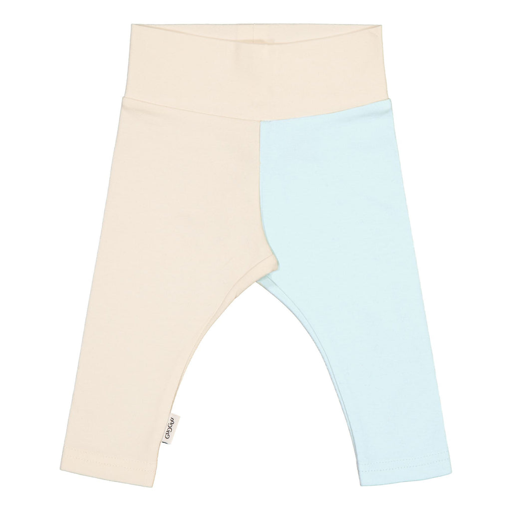 gugguu Baby 2-Color Leggings Leggings White Sand / Baby Blue 50