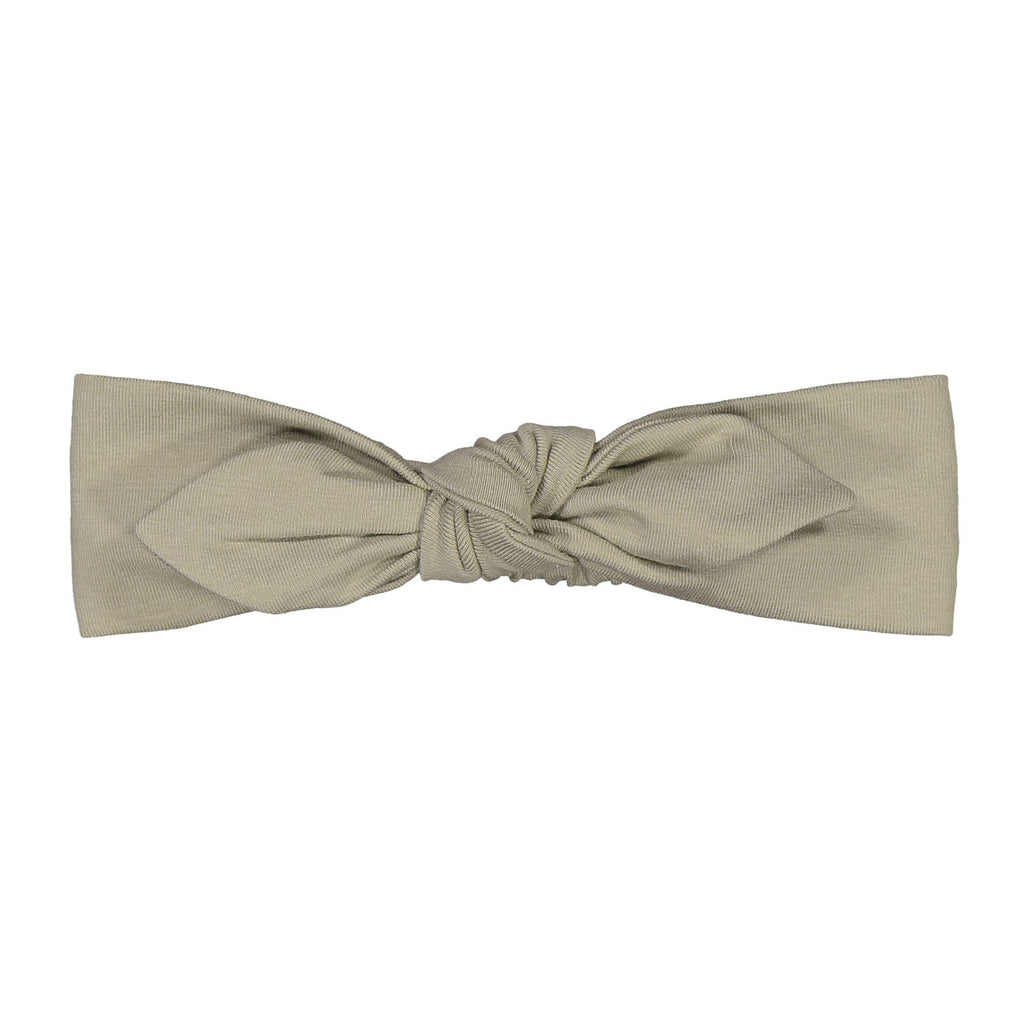 gugguu Baby Bow Band Hair accessories Pale Sage XXXS