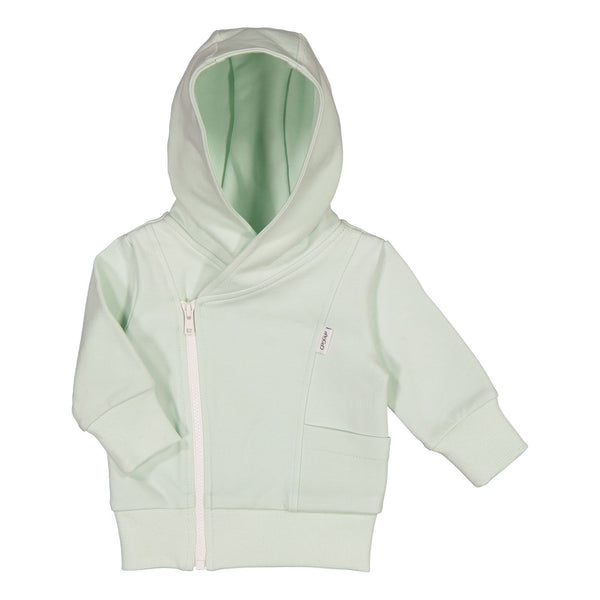 gugguu Baby Hoodie Hoodies and sweatshirts Sea Glass / White Sand 50