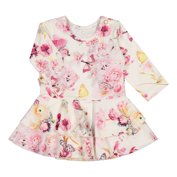 gugguu Baby Print Frilla Dress Dresses Romance Butterfly 50