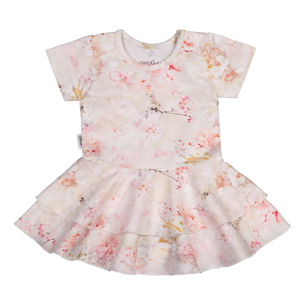 gugguu Baby Print SS Frilla Dress Dresses Dreamy Flower 50