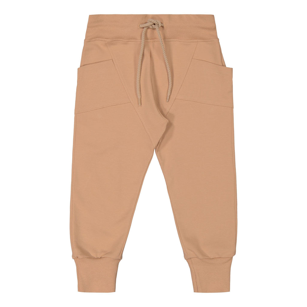 gugguu College Baggy Pants Sugar Cookie 80