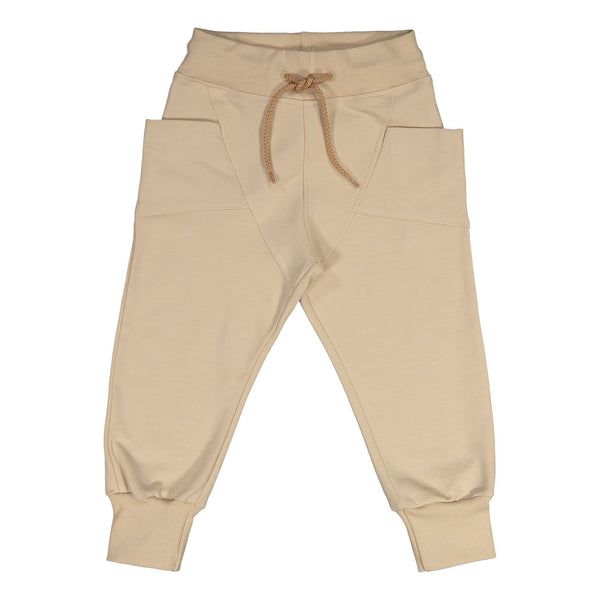 gugguu College Baggy sweatpants Pants Vanilla Coffee 80