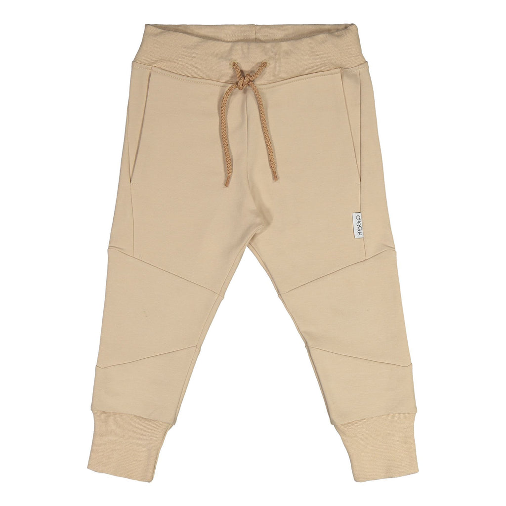 gugguu Cube Baggy sweatpants Pants Vanilla Coffee 80