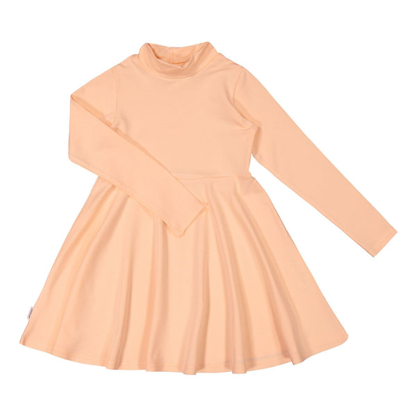 gugguu Half Turtleneck Dress Dresses Love Apricot 80
