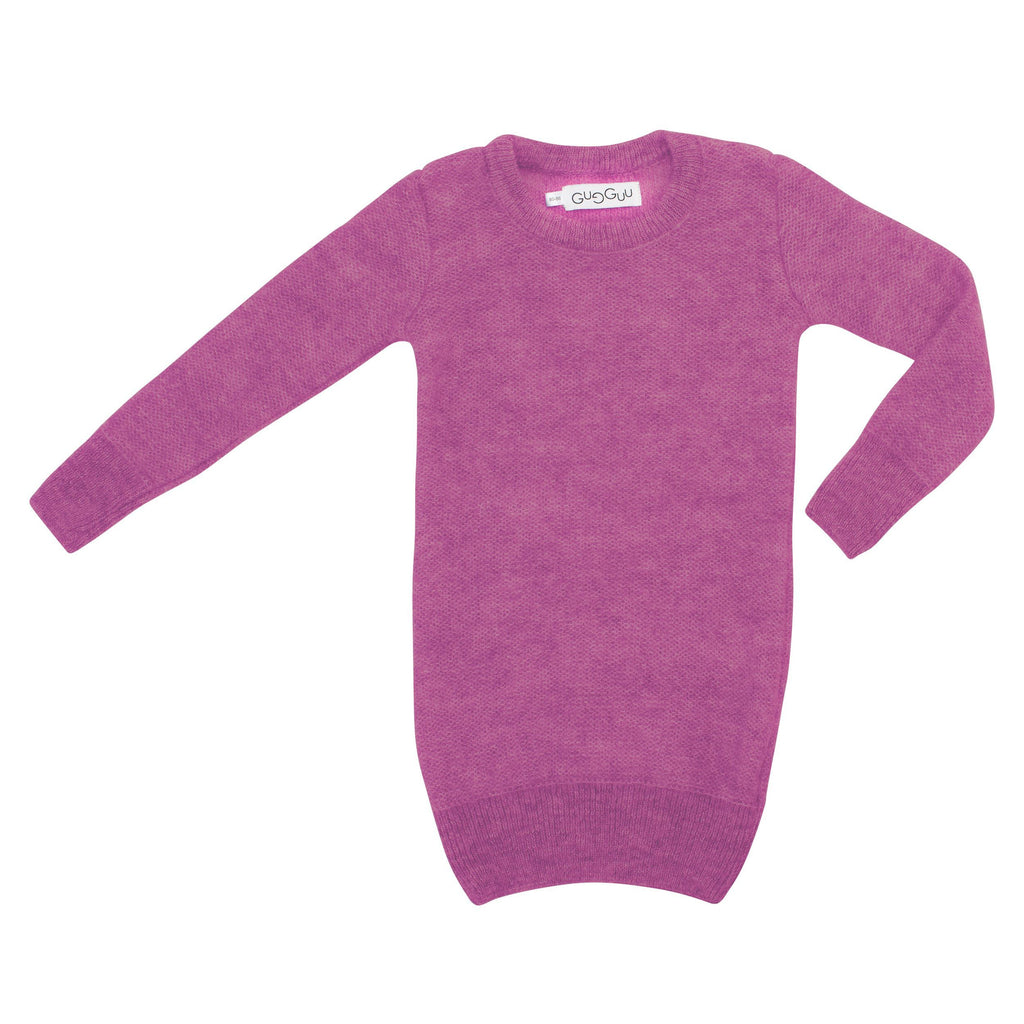 gugguu Kids Mohair dress Mohair Mauve 80/86
