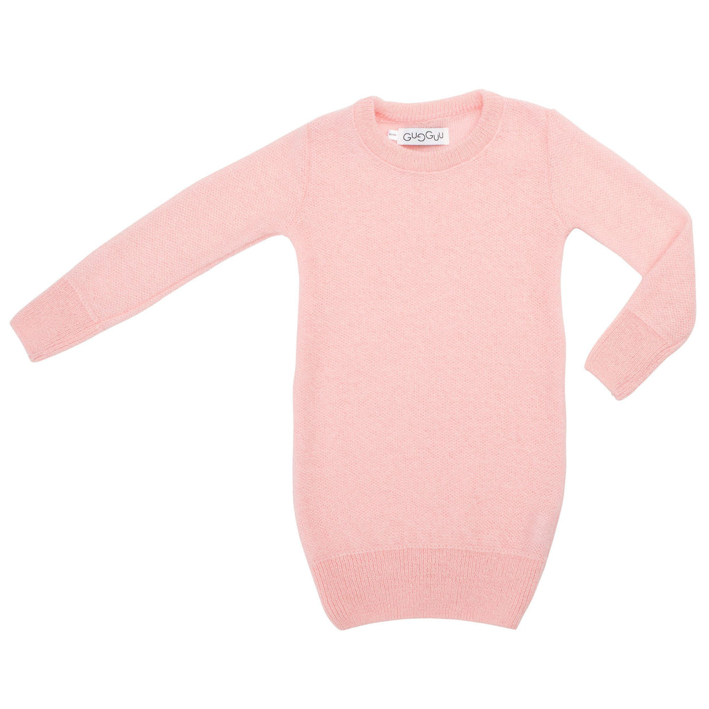 gugguu Kids Mohair dress Mohair Pink 80/86