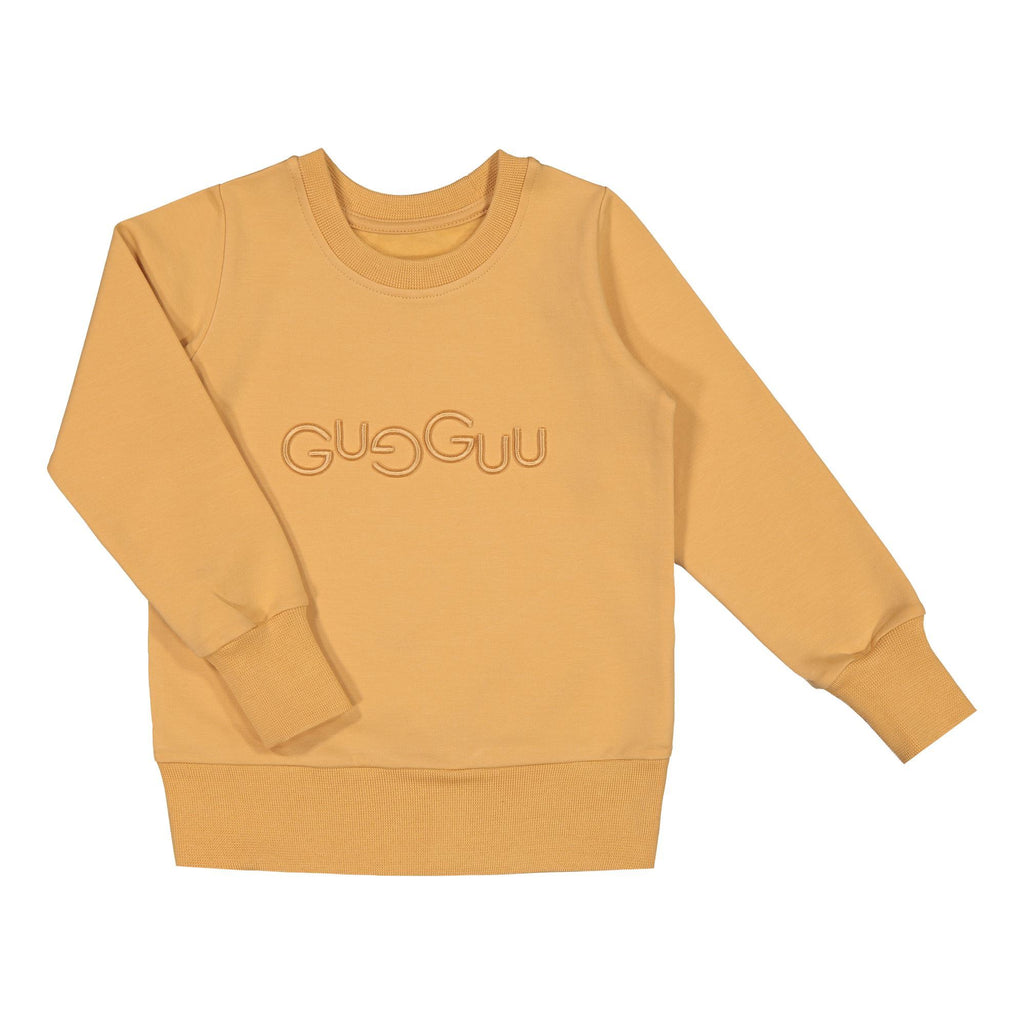gugguu Logo Sweatshirt Hoodies and sweatshirts Buttermilk 80