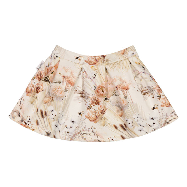 gugguu Print Flow Skirt Skirts Natural Flower 80
