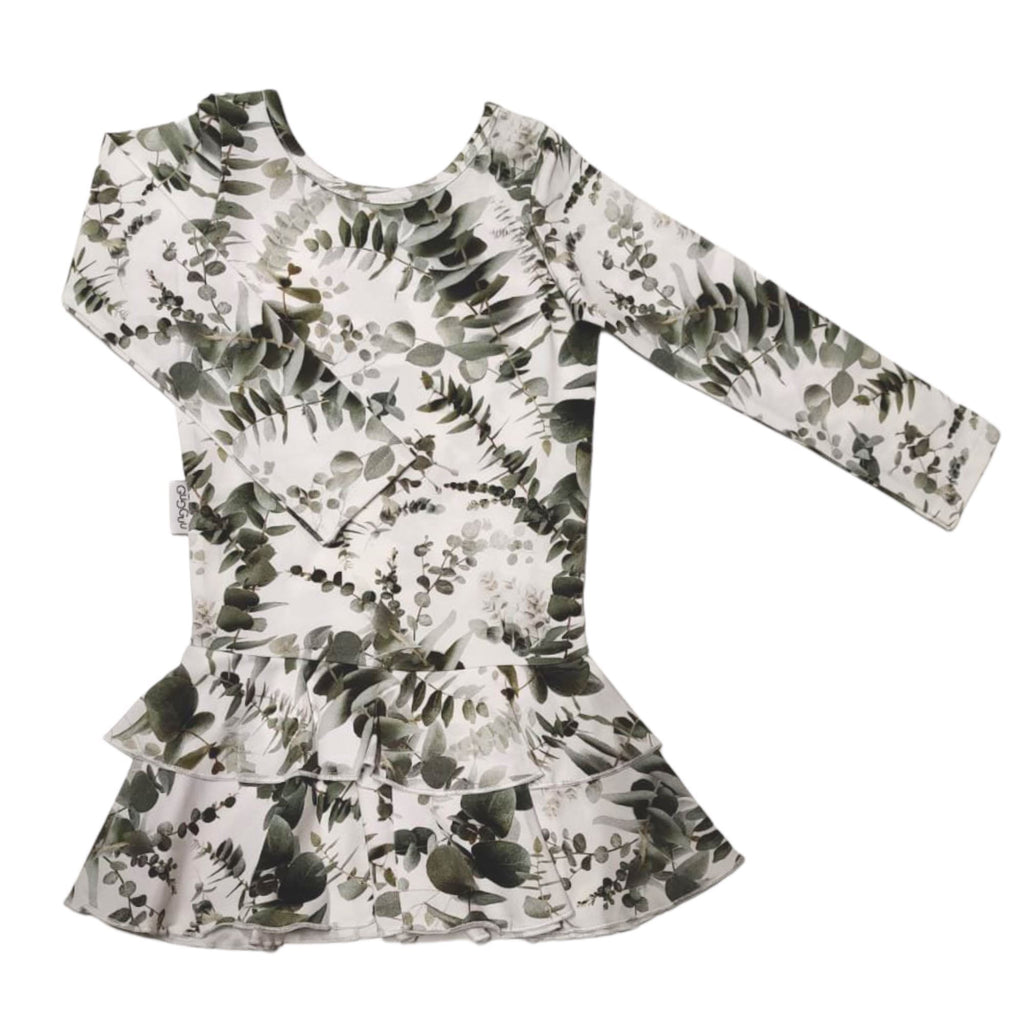gugguu Print Frilla Dress Dresses Eucalyptus 74