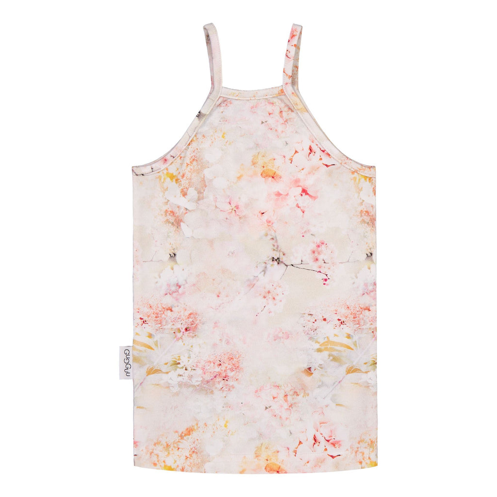 gugguu Print Spaget Top Shirts Dreamy Flower 80