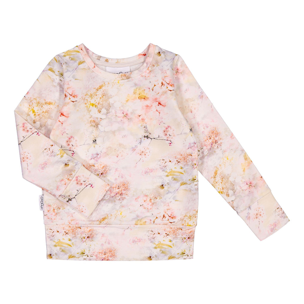 gugguu Print Sweatshirt Hoodies and sweatshirts Dreamy Flower 80